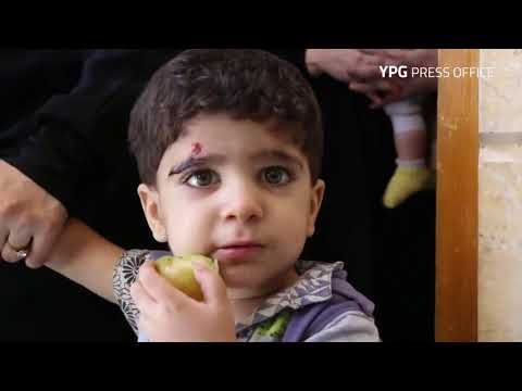 YPG led SDF rescued dozens of Syriac Christians from ISIS in eastern Raqqa