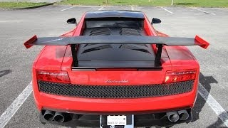 Lamborghini Gallardo LP570-4 Super Trofeo Stradale 2012 Videos