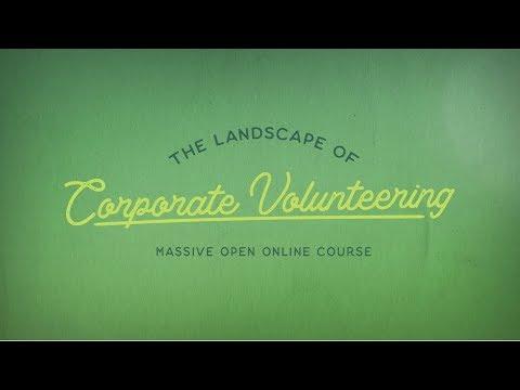 MOOC - The Landscape of Corporate Volunteering
