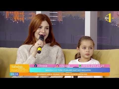 """""""7. Koğuştaki Mucize""""nin Balaca Aktrisası """"Sabahın Xeyir,Azərbaycan!""""da"""