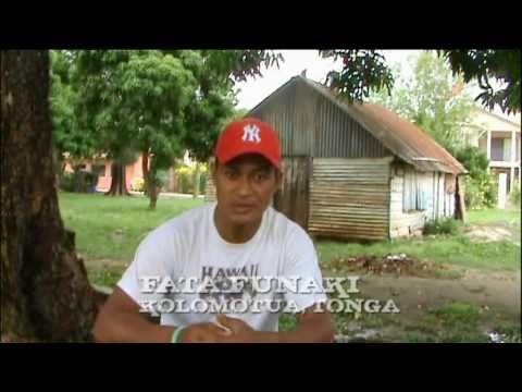 Fata Funaki Kolomotua Tonga Polypostcard