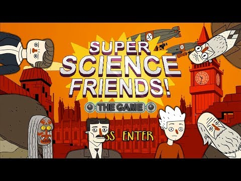 ALL BOSSES NO DEATHS || Super Science Friends - The Game (DEMO): Part 2 |