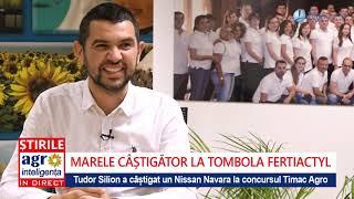 Fermierul Tudor Silion A Câștigat Un Nissan Navara La Tombola Fertiactyl De La Timac Agro
