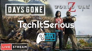 🔴 Zombie Night LIVESTREAM! | TechItSerious