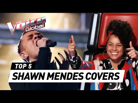 BEST SHAWN MENDES songs on The Voice | The...