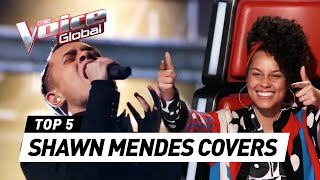 Video BEST SHAWN MENDES songs on The Voice | The Voice Global download MP3, 3GP, MP4, WEBM, AVI, FLV Agustus 2018