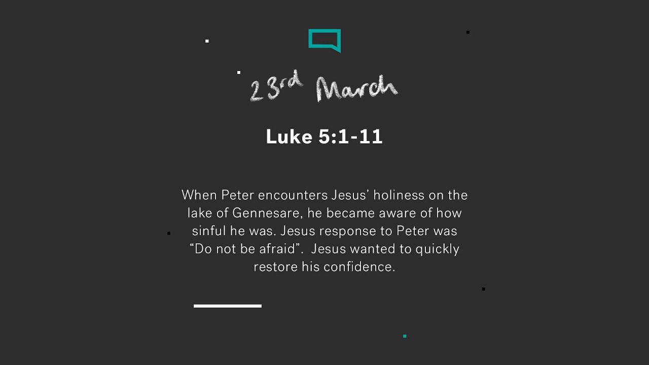Daily Devotions // Luke 5:1-11 Cover Image