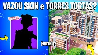 FORTNITE-LEAKED SKIN FROM BATTLE PASS 9 and NEW CROOKED TOWERS?
