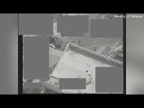 RAF Reaper drone strike released by Ministry of Defence - Abu Kamal - May 9th 2017