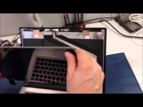 Anleitung: Displayrahmen / LCD Bezel / LCD Frontblenden am Notebook entfernen