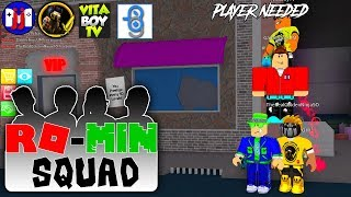 Ro-Min Squad Roblox Assassin Show Down | GamerBoy JJM | VitaBoy TV | Golden Ninja 50
