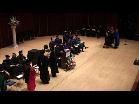 Awarding of PhD Degrees
