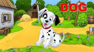 Learn name of Dog Duck Cat animals Funny - Kids Smart Learning