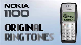 Presenting the nokia 1100 / 1101 1108 1100i original monophonic ringtone you can skip to these ringtones below: `````````````````````````````````````````...