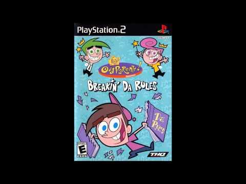 The Fairly OddParents: Breakin' Da Rules Music - Title Screen