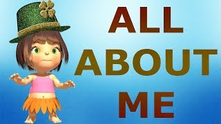 All About Me Song For Preschoolers   Nursery Rhymes For Children   Kids 3D Cartoon Animated Rhymes