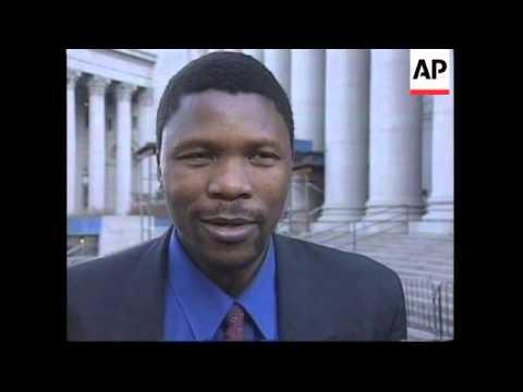 USA: LAWSUIT AGAINST ROBERT MUGABE LATEST