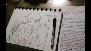 How to Draw an Anime Couple Tutorial by Gresandy Aulia