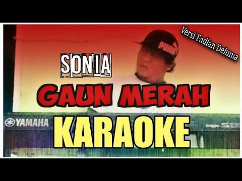 gaun-merah-sonia-||-karaoke-(official-music-video)