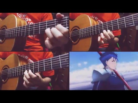 Brave Shine (Aimer) Fate/Stay Night OP - Acoustic Instrumental Cover