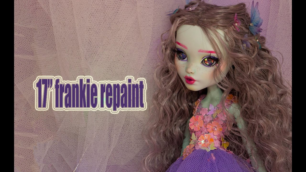 17 '' Frankie Repaint with Inset Eyes