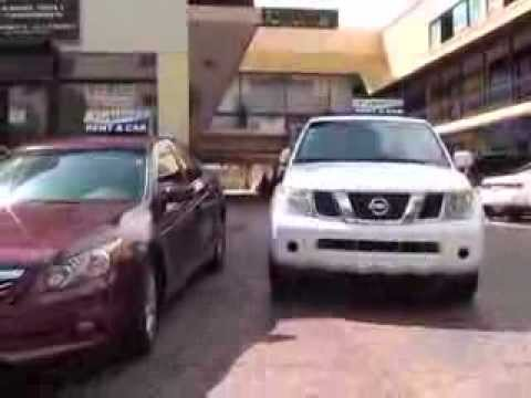 car rental santo domingo dominican republic	  rent a car en santo domingo ashley rent a car - YouTube
