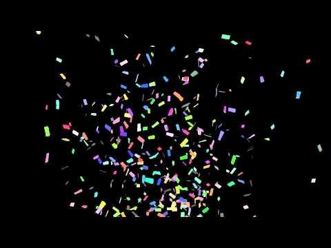 Balloons 3d Live Wallpaper Confetti Cannon Youtube