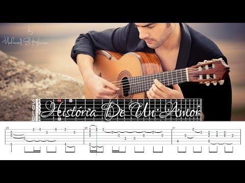 História De Un Amor - Fingerstyle Guitar Lesson Tab