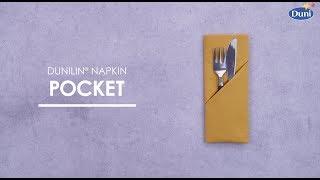 Napkin Folding - Pocket