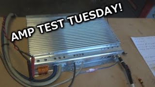 Amp Test Tuesday - Soundstream Class A 5.0 - Rated 500 watts - 1/4 ohm - SMD AD-1 Amp Dyno