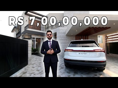 SOLD | Inside a 7 Crore  Fully Automated 1 Kanal Villa in DHA Lahore l  Tour by Syed Brother