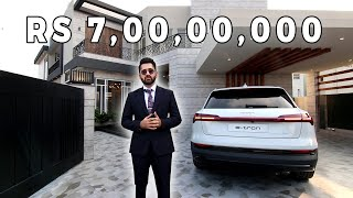Inside a 7 Crore  Fully Automated 1 Kanal Villa in DHA Lahore l  Tour by Syed Brother