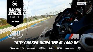 ///M 1000 RR | Troy Corser 🐊  360° view | HockenheimRing