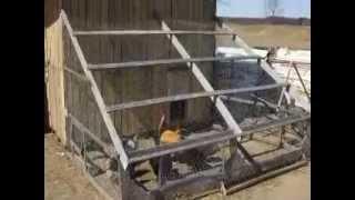 -free- Pallet Hen House Chicken Coop Pt 3