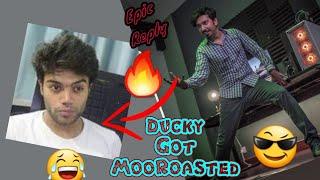 Mooroo's Epic Reply | Ducky Got MooRoasted | vlog 24 |