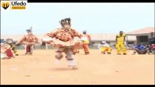 Igala masquarade dance