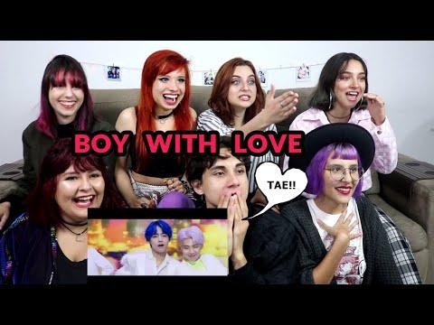 BTS (방탄소년단) '작은 것들을 위한 시 (Boy With Luv) feat. Halsey l MV REACTION