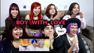 Bts  방탄소년단  '작은 것들을 위한 시  Boy With Luv  Feat. Halsey L Mv Reaction