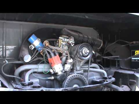 how to adjust vw carbs