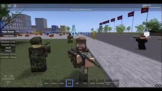 (ROBLOX) [VTV] Vietnam Charges at hostile civilians with bayonets.