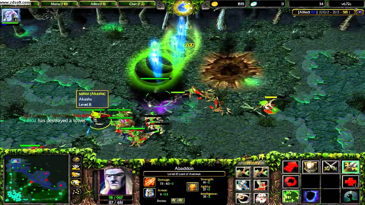DotA Abaddon Live Mode RD YouTube