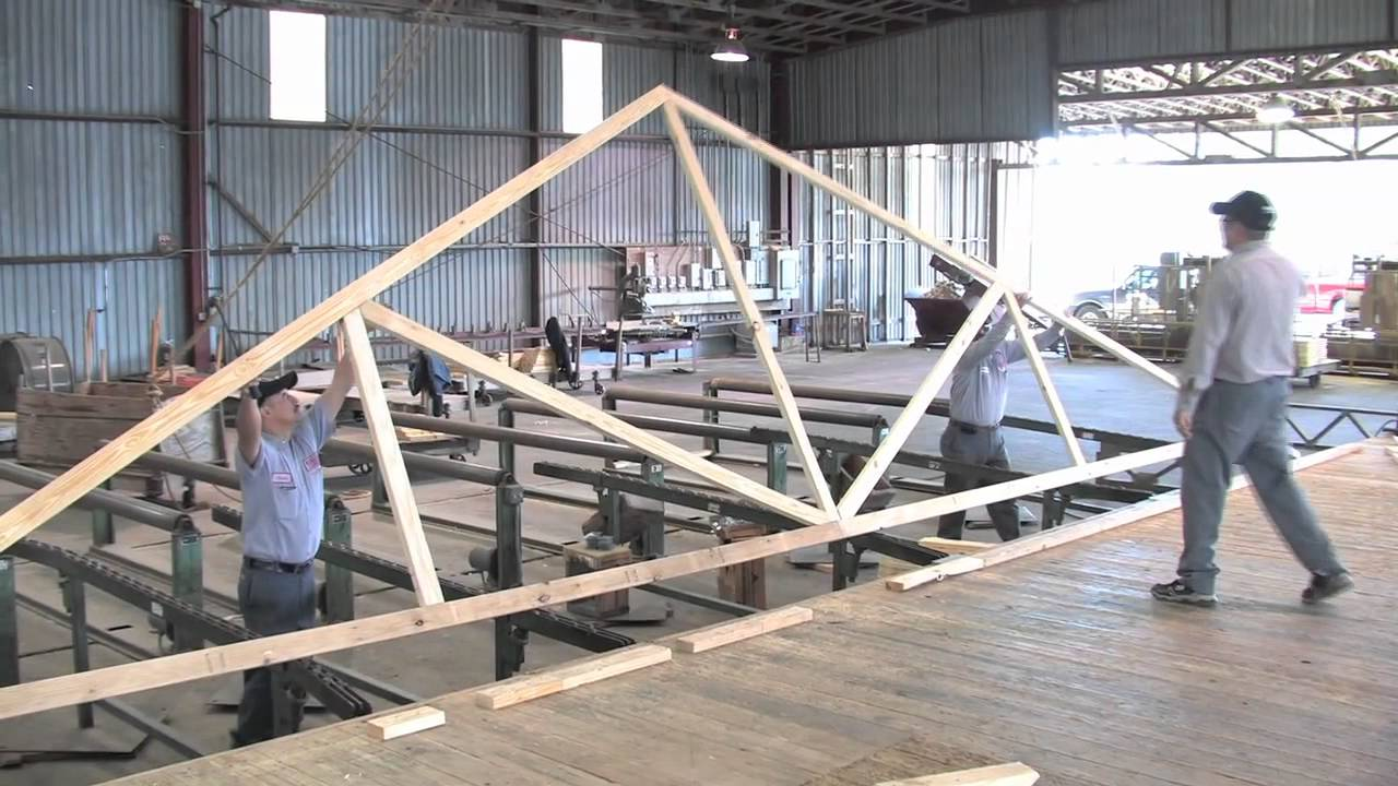 Fort Worth Lumber Rafters Trusses Design And Build Youtube