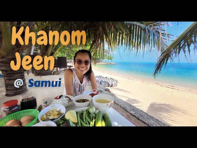 Die besten Thai Style Reisnudeln auf Koh Samui