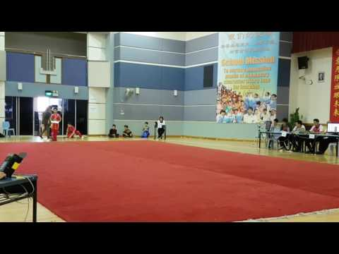 Singapore National Wushu Competition  2017 - Senior