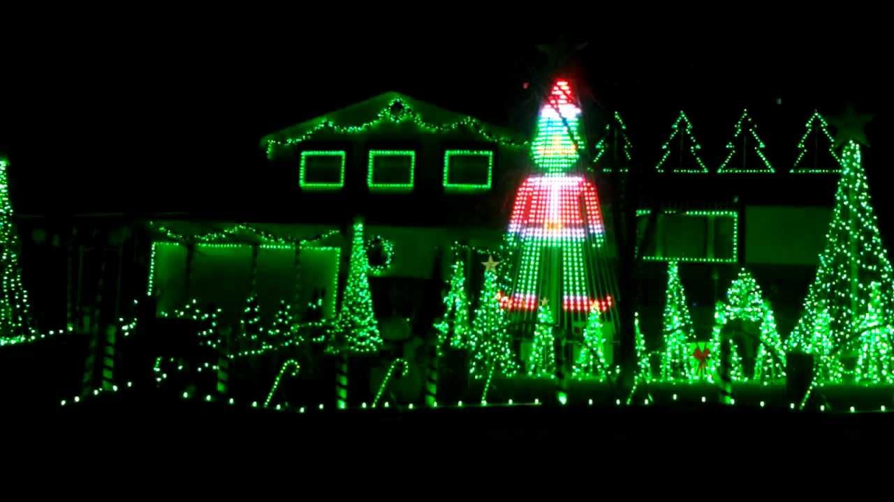 colorado springs christmas lights set to music youtube - How To Set Christmas Lights To Music