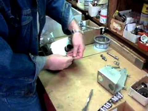 Jag E-Type brake pedal box and servo rebuild final