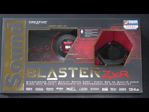 Creative Sound Blaster ZxR [Unboxing 2015]