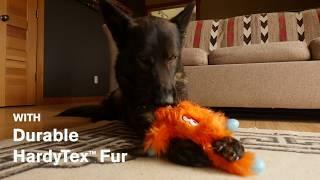 West Paw Rowdies durable plush dog toys