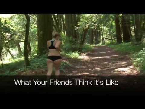 Thru Hiking - What People Think It Is like.......