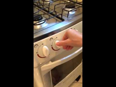 How to light your gas stove and oven